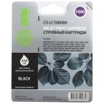 Картридж струйный Cactus CS-LC1000BK, черный, 22.6мл