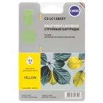 Картридж струйный Cactus CS-LC1280XY, желтый, 16.6мл