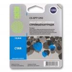 Картридж струйный Cactus CS-EPT1292, голубой, 10мл