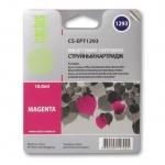 Картридж струйный Cactus CS-EPT1293, пурпурный, 10мл