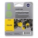 Картридж струйный Cactus CS-EPT1294, желтый, 10мл
