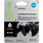 Картридж струйный Cactus CS-C8765 №131, черный, 17 мл