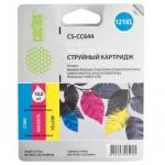 Картридж струйный Cactus CS-CC644 №121XL, 18 мл, 3 цвета