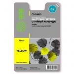 Картридж струйный Cactus CS-C4913А №82, желтый, 72 мл