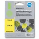 Картридж струйный Cactus CS-CB325N №178XL, желтый