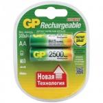 ����������� Gp AA/HR6, 2500mAh, 2��/��