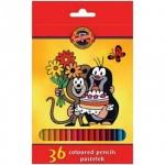 Набор цветных карандашей Koh-I-Noor Крот, 36 цветов