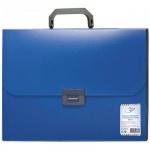 Папка-портфель Office Space, 7 отделений, синяя