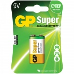 Батарейка Gp Super Alkaline 6LR61/Крона, 9В, алкалиновая
