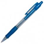 Ручка шариковая автоматическая Pilot Super Grip синяя, 0.4мм, синий корпус
