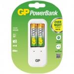 Зарядное устройство для аккумуляторов Gp PB410GS130 для 2 акк. АА/ААА, 2 аккум АА1300mAh