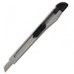 Нож канцелярский Office Space 18мм, серый