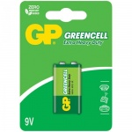 Батарейка Gp Greencell 6LR6/Крона, 9В, солевая