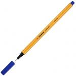 Ручка капиллярная Stabilo Point, 0.4мм, синий