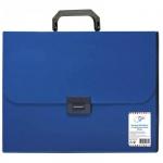 Папка-портфель Office Space синяя, 1 отделение