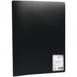 Папка файловая Office Space черная, A4, на 40 файлов, F40L1_291