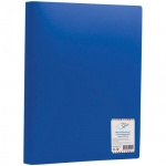 Папка файловая Office Space, A4, на 60 файлов, синяя