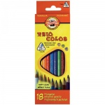 Набор цветных карандашей Koh-I-Noor Tricolor, 12