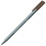Ручка капиллярная Staedtler Triplus Fineliner 334, 0,3мм, теплая сепия