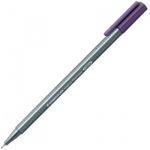 Ручка капиллярная Staedtler Triplus Fineliner 334, 0,3мм, красно-фиолетовый