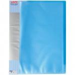Папка файловая Berlingo Diamond, А4, на 40 файлов, синий