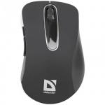 Мышь беспроводная оптическая USB Defender Datum MM-075, 1000dpi, черная
