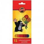 Набор цветных карандашей Koh-I-Noor Крот, 12