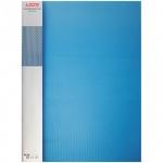 Пластиковая папка с зажимом Berlingo Diamond синяя, А4, 17мм, ACp_01002