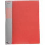 Пластиковая папка с зажимом Berlingo Diamond красная, А4, 17мм, ACp_01003