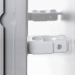 Ролики опорные для системных досок Magnetoplan 1111547 2шт, белые, пластиковые, фиксатор расстояния от стены