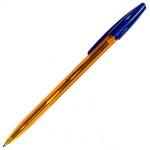 Ручка шариковая Erich Krause R-301 Amber синяя, 1мм, 31058