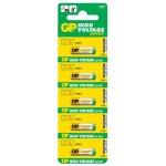Батарейка Gp 27A, 12В, алкалиновые, 5шт/уп