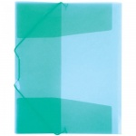 Пластиковая папка на резинке Berlingo зеленая, А4