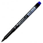 Маркер перманентный Centropen 2536 синий, 1мм, пулевидный наконечник