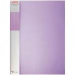 Пластиковая папка с зажимом Berlingo Diamond, А4, 17мм, фиолетовая