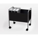 Шкафчик для бумаг Office Force 560х370х570мм, на колесиках