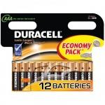Батарейка Duracell Basic AAA/LR03, 1.5В, алкалиновая, 12шт/уп