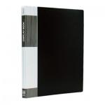 Папка файловая Berlingo Standard черная, A4, на 60 файлов, MT2444