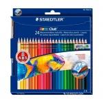 Набор акварельных карандашей Staedtler Noris Club, 24 цвета