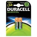 Аккумулятор Duracell AA/HR6, 2400мАh, 2шт/уп