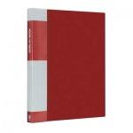 Папка файловая Berlingo Standard красная, A4, на 40 файлов, MT2436