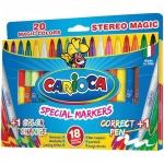 ���������� Carioca CambiaColor 20 ������, � 2 ����������