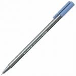 Ручка капиллярная Staedtler Triplus Fineliner 334, 0,3мм, синий фаянс