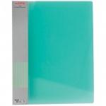 Папка файловая Berlingo Diamond, А4, на 20 файлов, зеленый