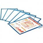 Панель для демосистем Berlingo А4, синяя, антибликовая