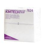 Протирочные салфетки Kimberly-Clark Kimtech Pure 7624, листовые, 35шт, 1 слой, белые