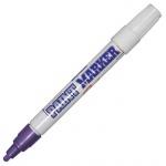 Маркер-краска Munhwa фиолетовый, 4 мм, пулевидный наконечник, нитро-основа