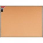 Доска пробковая Berlingo Premium 120х90см, коричневая, деревянная рама
