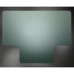 Коврик под кресло Clear Style Т-образный 1200х1500мм, 2,3мм, 1691, для коврового покрытия