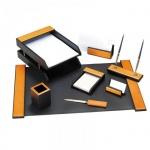 Набор настольный Delucci 8 предметов, светло-черный